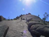 The Pyramid 登り口