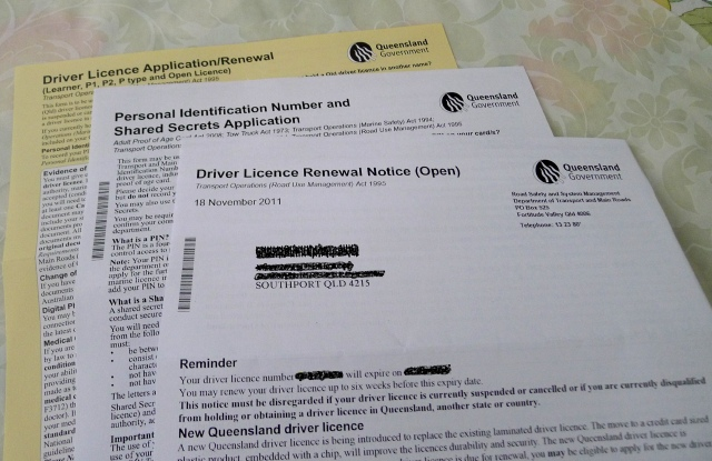 Driver License Renewal Notice