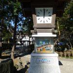 諏訪大社下社秋宮前のオルゴール塔