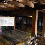 松本城 天守三階
