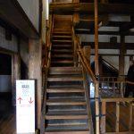 松本城 天守六階への階段