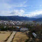 松本城 天守からの眺め(東)