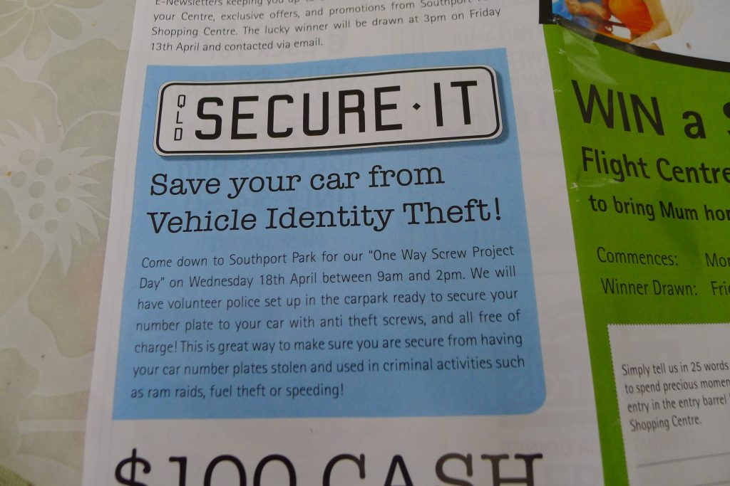 Save your car from Vehicle Identity Theft!